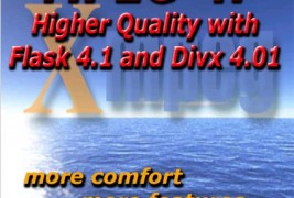 MPEG-4 az új Flask 4.1-gyel: Közel DVD minõség.
