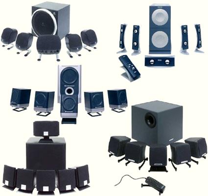 Összehasonlítás: Öt 5.1, illetve 6.1-es hangszórórendszer