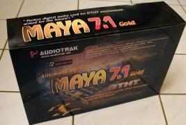 Az Audiotrak Maya 7.1 Gold és a CARDamp –  avagy hogyan emeljük Hi-Fi szintre PC-nk audió képességeit?