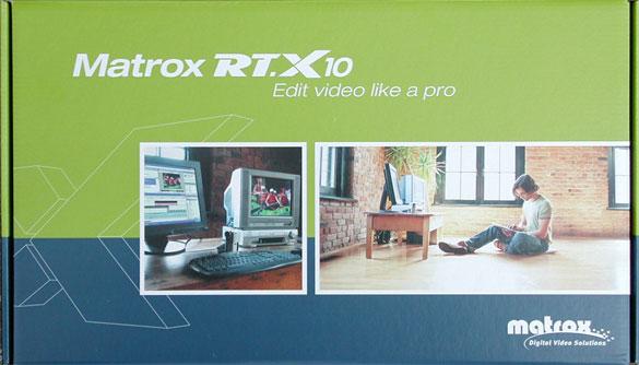 Videószerkesztés kezdõknek: Matrox RT.X10