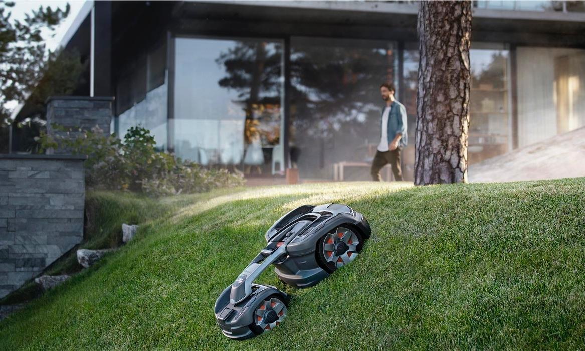 Husqvarna robotfűnyíró a szép kertek alapeszköze
